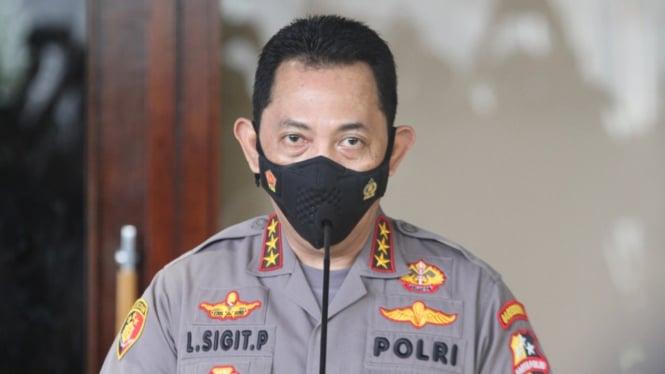 Komjen Listyo Sigit Prabowo