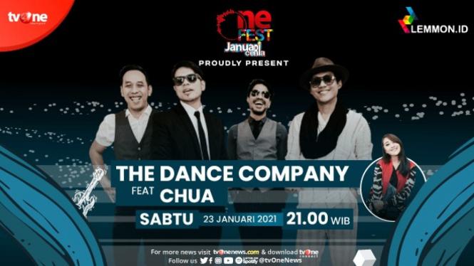 Kolaborasi The Dance Company & Chua Kotak Lengkapi Kemeriahan One Fest
