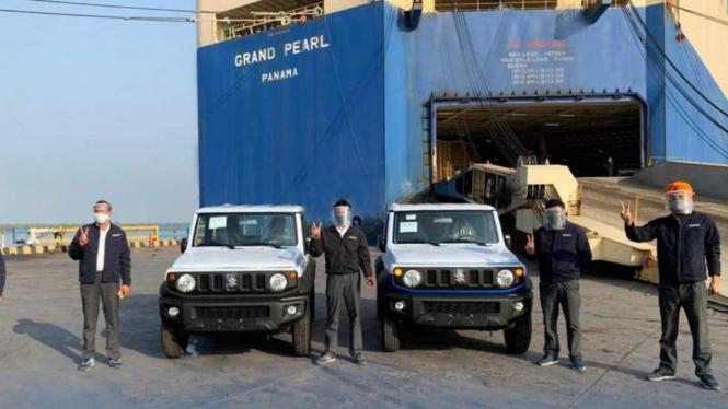 Ekspor Suzuki Jimny buatan India