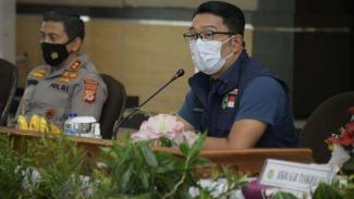 Ridwan Kamil Kecewa Target Vaksinasi COVID-19 Tahap Satu Meleset