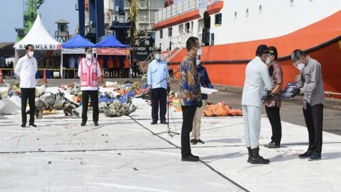 Jasa Raharja Serahkan Santunan ke Ahli Waris Korban Sriwijaya Air