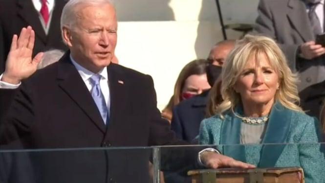 Pengambilan sumpah Joe Biden sebagai Presiden AS ke-46