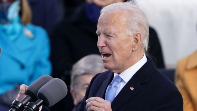 Presiden Amerika Serikat, Joe Biden.