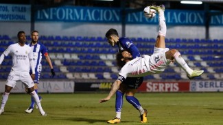 Pertandingan Alcoyano vs Real Madrid di Copa del Rey