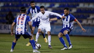 Pertandingan Alcoyano vs Real Madrid di Copa del Rey
