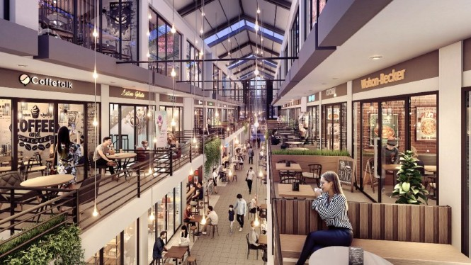 Virginia Arcade, Lifestyle Co-Hub 3 Lantai di kawasan East CBD BSD City dari Sinar Mas Land.