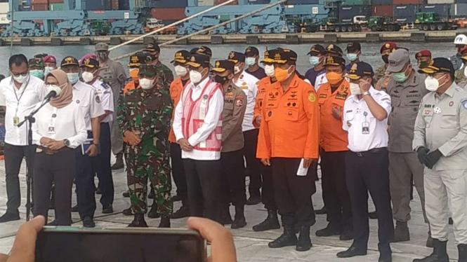 Menhub Budi Karya Sumadi tutup operasi pencarian korban Sriwijaya Air SJ-182