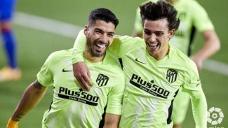 Bomber Atletico Madrid, Luis Suarez.
