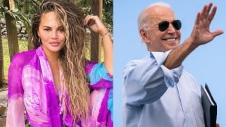 Chrissy Teigen dan Joe Biden.