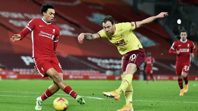 Pertandingan Liverpool vs Burnley