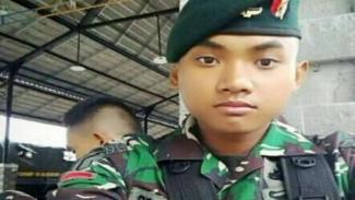 VIVA Militer: Almarhum Roy sebelum gugur.