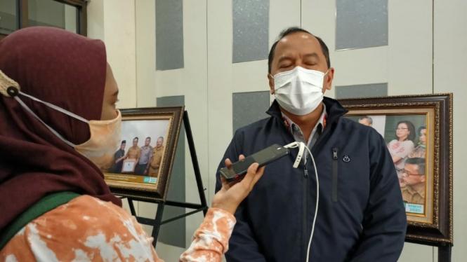 Juru Bicara Gugus Tugas Percepatan Penanganan COVID-19 Kota Depok, Dadang Wihana