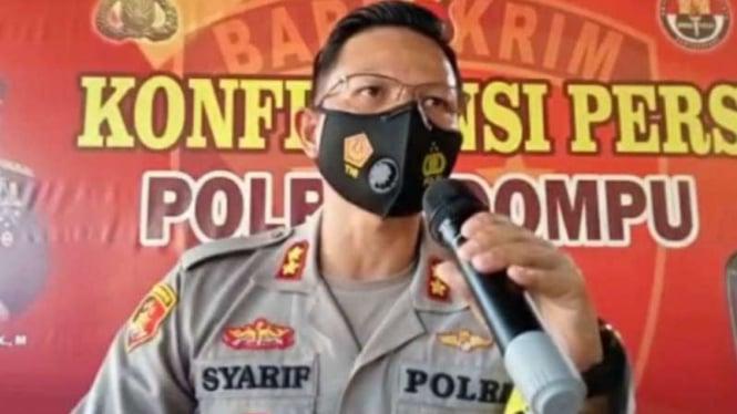 Kapolres Dompu, AKBP Syarif Hidayat.