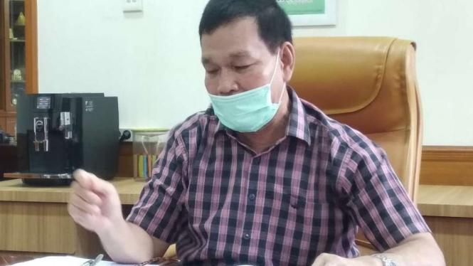 Rektor Universitas Sumatera Utara (USU), Pof.Runtung Sitepu