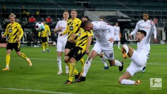 Duel Moenchengladbach vs Borussia Dortmund