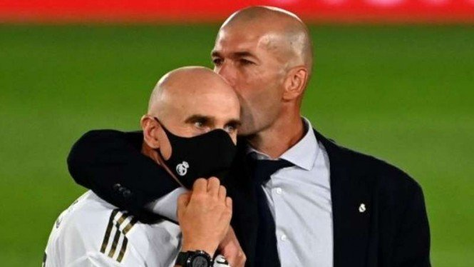 David Bettoni dan Zinedine Zidane.