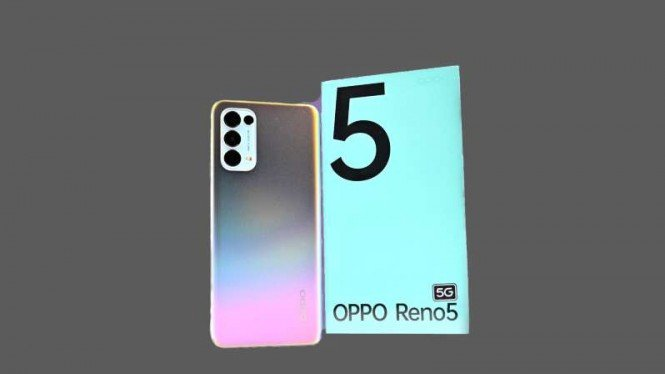 Ponsel pintar Oppo Reno5 5G