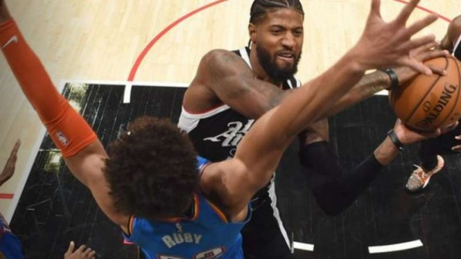 Pemain LA Clippers, Kawhi Leonard.