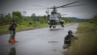 VIVA Militer: Yonif Para Raider 330//Tri Dharma.