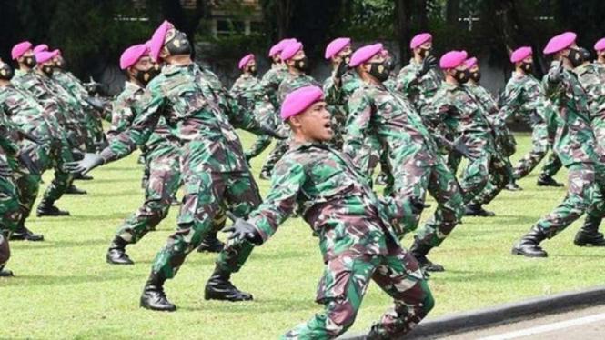 VIVA Militer: Penyambutan 86 Perwira Remaja Korps Marinir TNI Angkatan Laut