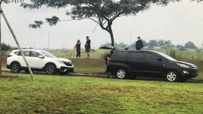 Honda CR-V baru tertangkap kamera berada di Indonesia