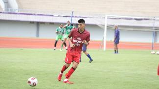 Pemain asing Persita Tangerang, Tamirlan Kozubaev memutuskan hengkang