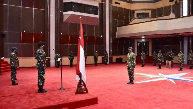 VIVA Militer: Panglima TNI terima laporan Korps Kenaikan Pangkat 22 Pati TNI