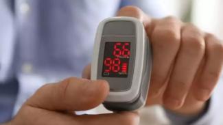 Mengukur oksigen darah