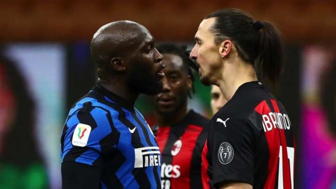 Perseteruan antara Romelu Lukaku dan Zlatan Ibrahimovic