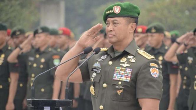 VIVA Militer: Kepala Staf TNI Angkatan Darat, Jenderal TNI Andika Perkasa