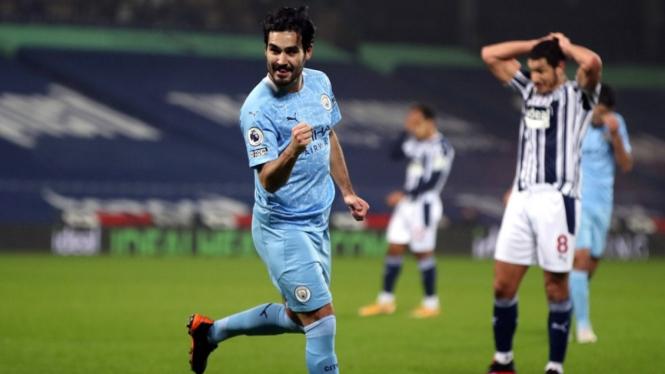 Gelandang Manchester City, Ilkay Guendogan