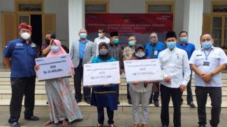 Kemensos salurkan bantuan sebesar Rp212 miliar untuk warga Banten.