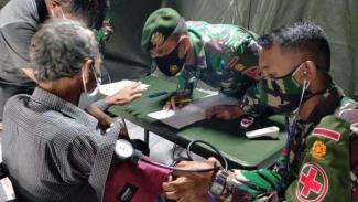 VIVA Militer: Rumah sakit lapangan TNI Angkatan Darat di Sulawesi Barat