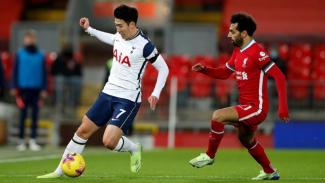 Duel Son Heung-min dengan Mohamed Salah