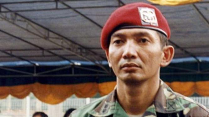 VIVA Militer: Sjafrie Sjamsoeddin saat berpangkat Letnan Kolonel (Letkol) TNI