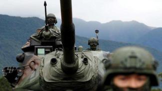VIVA Militer: Pasukan Angkatan Bersenjata Taiwan dalam status siaga