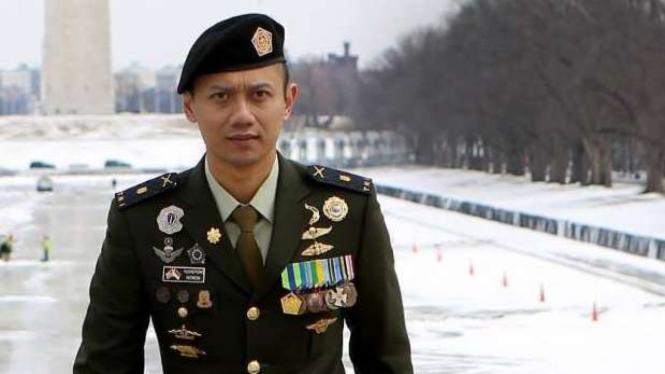 VIVA Militer: Mayor TNI (Purn.) Agus Harimurti Yudhoyono