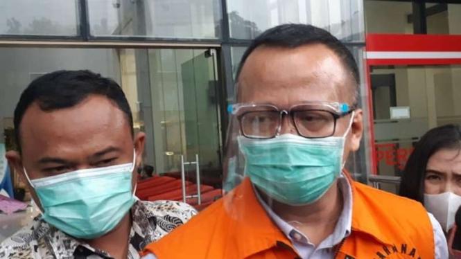 Mantan Menteri Kelautan dan Perikanan sekaligus politikus Partai Gerindra, Edhy Prabowo.