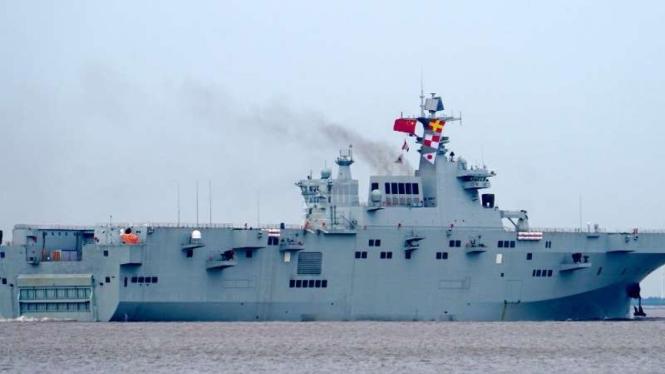 VIVA Militer: Kapal serbu amfibi Type 075 Angkatan Laut China (PLAN)