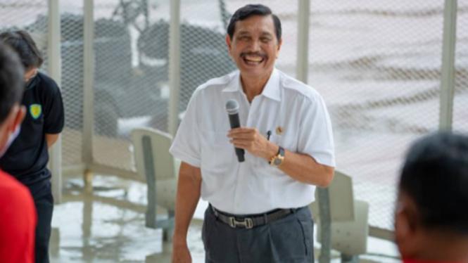 Ketua Umum PB PASI, Luhut Binsar Panjaitan.