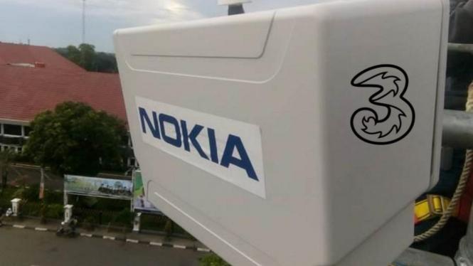 Tri Indonesia dan Nokia.