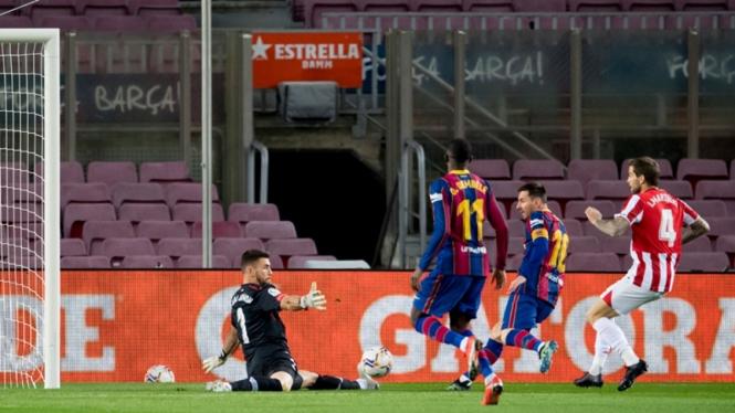 Pertandingan Barcelona vs Athletic Bilbao