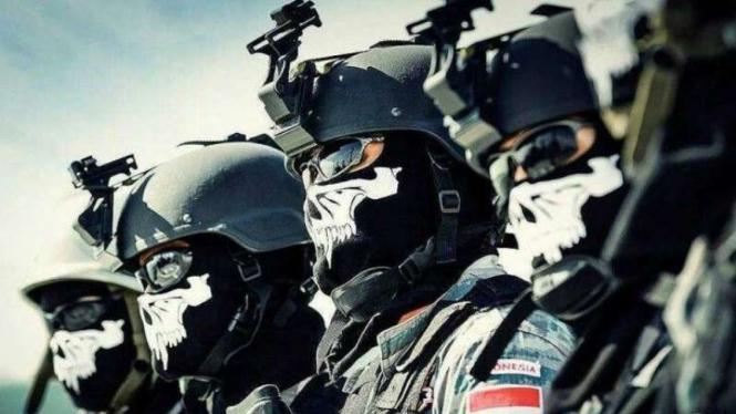 VIVA Militer: Prajurit Komando Pasukan Katak (Kopaska) TNI Angkatan Laut