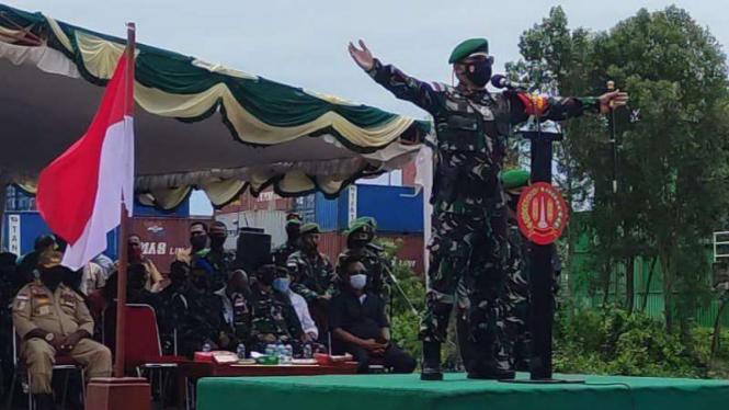 VIVA Militer: Danrem 174 Merauke Brigjen TNI Bangun Nawoko