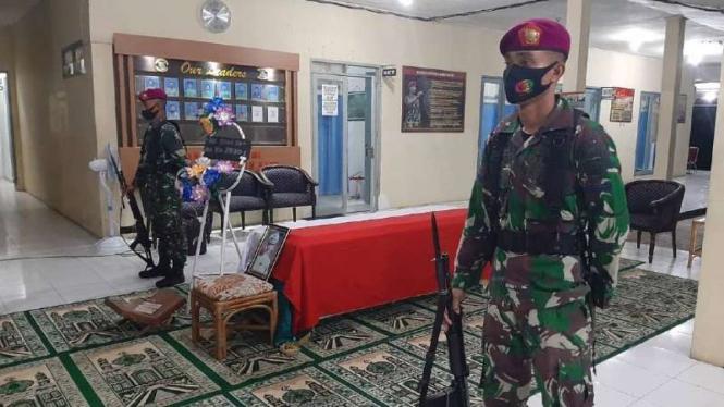 VIVA Militer: Jenazah Kolonel Mar Barzuweh disemayamkan di Yonmarhanlan IX