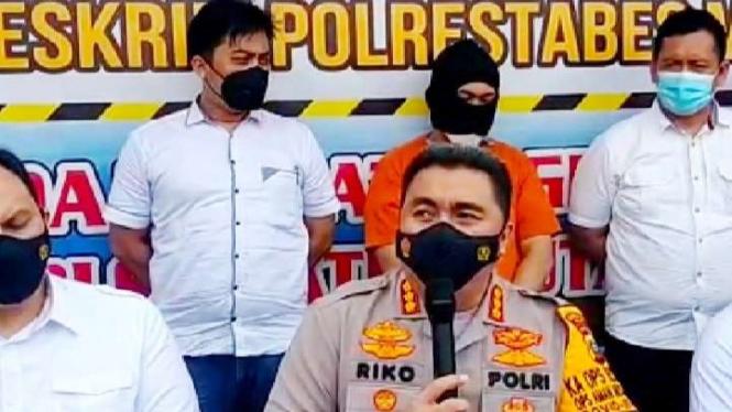 Kapolrestabes Medan Kombes Pol Riko Sunarko.