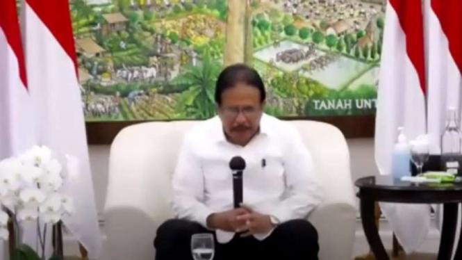 Menteri  ATR/Kepala BPN Sofyan Djalil.
