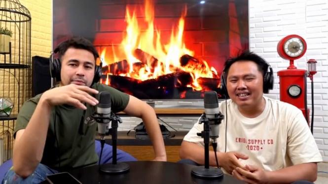 Interview Raffi Ahmad dengan mantan sopirnya di podcast RANS Entertainment
