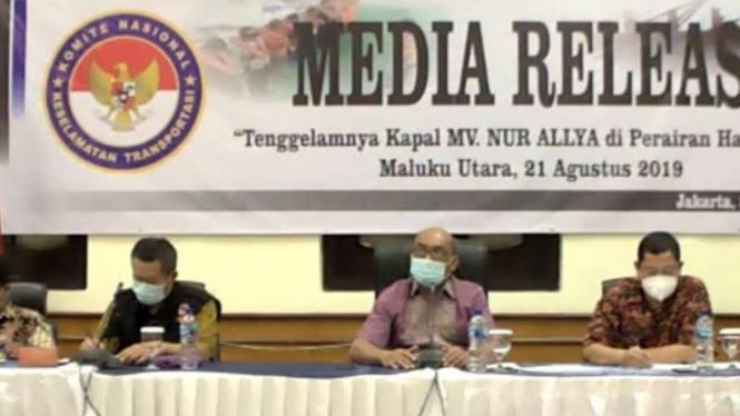 KNKT ungkap hasil penyelidikan tenggelamnya Kapal MV Nur Allya