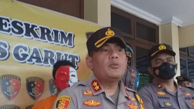 Kapolres Garut, AKBP. Adi Benny Cahyono